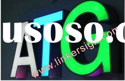 cheap LED metal letters