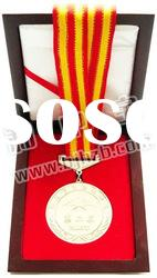 custom medal holder wooden box