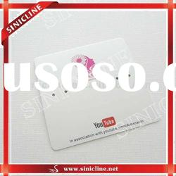 customized paper hangtag for jewelry packaging , cosmetic packaging