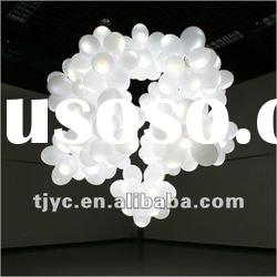 halloween party decoration night light balloon with glow stick