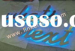 illuminated led channel letter sign