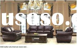 living room furniture American style morden design leather sofa