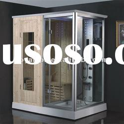 luxurious acrylic outdoor steam sauna room