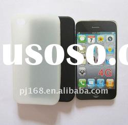 manufacturer selling silicon cell phone case for i-phone 4G/4GS HOT SELL!
