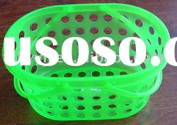plastic basket with handle,pegs