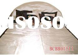 various colours and patterns silk bed cover/king size and queen size