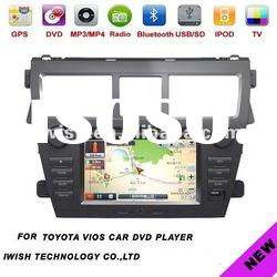 09-11 series car dvd player gps for toyota vios