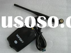 1000mw Wireless Lan card USB Wifi Adapter+6 dBi Antenna