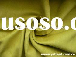 100% polyester weft suede fabric for shoes fabric/cusion fabric/ uphostery fabric