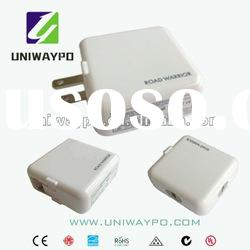 12W 5v 2a usb power adapter switching power adapter PSE/RoHS folding double USB wall-mount