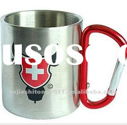 18/8 double wall Stainless steel tea cups
