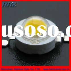 1w warm white high power led 120LM for street lamp