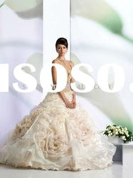 2011 new style custom made wonderful wedding dresses