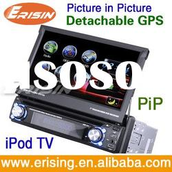 """2012 Hot Cake 7"""" 1 DIN Touch screen GPS Car DVD+3D UI with TV,BT,IPOD,RDS for All cars"""