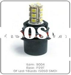 2012 Hot-Sale in South 9004 18LEDs 5050SMD fog light led car side light