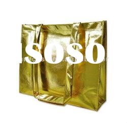 2012 Hot sale lamination Non woven bag , metallic nonwoven bag