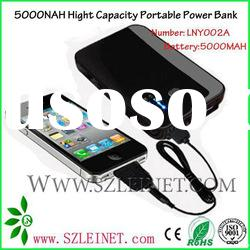 2012 New Products 5000MAH High Capacity Power Bank Iphone