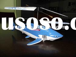 2012 R/C shark helicopter without Gyro/animal airplane toy