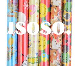 2012 Xmas design printing gift wrapping paper roll