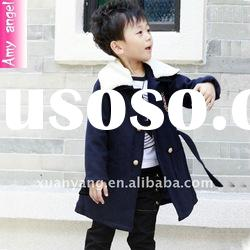 2012 fashion child clothes for new year kids overcoat