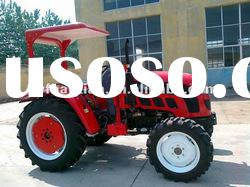 2012 hot sale 35hp small tractor with cabin,front end loader,backhoe,mower.trailer,plough
