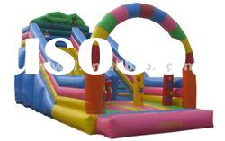 2012 hot selling giant inflatable kids toys children slide