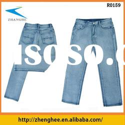 2012 jeans embroidery back pockets for men