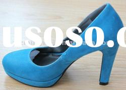 2012 latest style beautiful bow ladies high-heel shoes