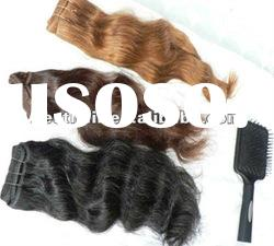 2012 new arrival high quality colored two tone hair weave