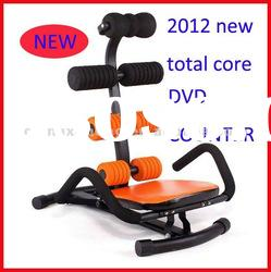 2012 new total core abdominal exerciser workout machine with DVD and counter