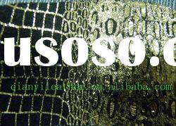 2012 pvc crocodile synthetic leather fabric for furniture
