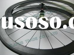 2012 road bike carbon wheel (50mm clincher wheel)