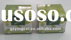 2012green color cosmetic paper box