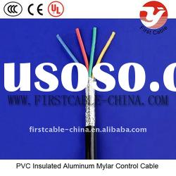22 AWG 24AWG PVC Insulated Screened Control Cable