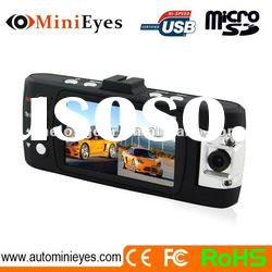 2.7 inch TFT Motion detection dual camera car video recorder