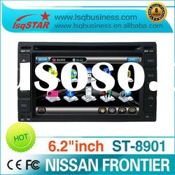 2 Din 7 inch Nissan/hyundai car dvd player with gps navigation system! in stock!