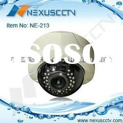 600tvl CMOS 2.8-12mm manual zoom lens vandalproof IR dome camera (NE-213Z)