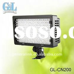6W Dimmable LED Camera video shooting light GL-CN200