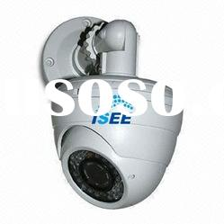 700TVL Option CCTV Dome Camera Dual-core DSP, 2.8/12mm Manual Zoom Lens