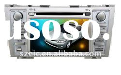 8 inch car dvd player special for toyota camry with GPS navigation