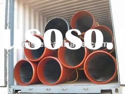 ASTM seamless steel pipe for liquid service