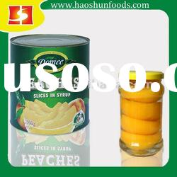 Canned Yellow Peach in Syrup 2012 new crop