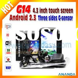 Capacitive 3G Android Dual SIM Mobile Phone G14