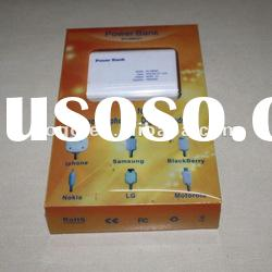 China factory mobile battery charger/lithium battery pack/mobile phone emergency charger
