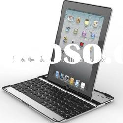 Cover Aluminum Bluetooth Keyboard for Apple ipad 2