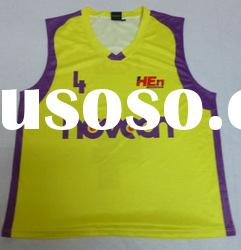 Custom-made college sublimation basketball jersey,basketball wear