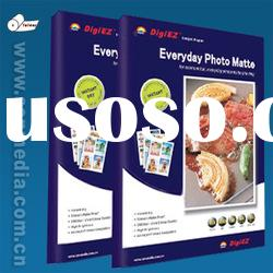 Factory Sell 8.5x11inch Printable Both Side Matte 190g Inkjet Paper
