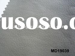 Faux soft PU leather for sofa material with TC backing