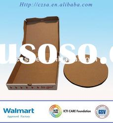 Food Packaging Corrugated Board Pizza Box(QS)