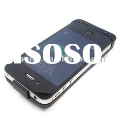 For Iphone 4 4S Power Bank Battery Charger Case With Speaker